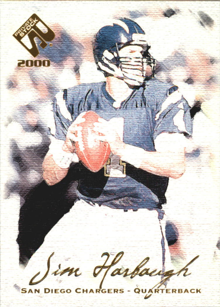 2000 Private Stock #82 Jim Harbaugh