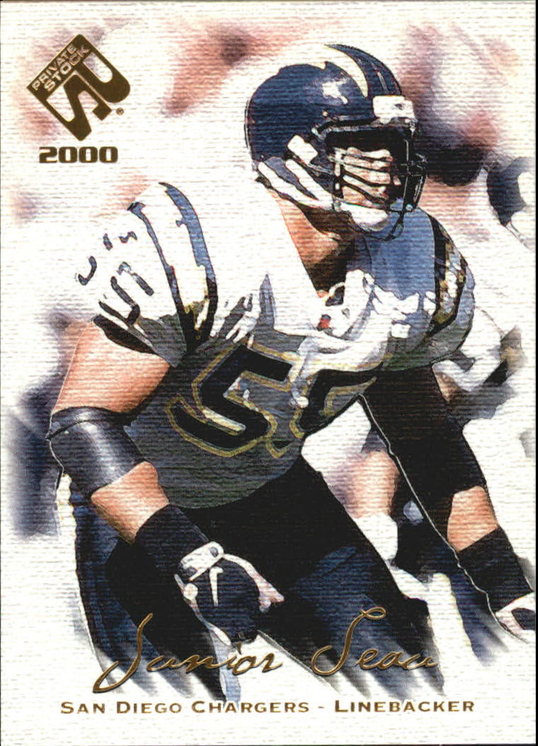 2000 Private Stock #83 Junior Seau