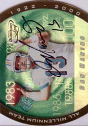 2000 Quantum Leaf All-Millennium Team Autographs #DM Dan Marino
