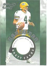2000 Quantum Leaf Hardwear #HW1 Brett Favre