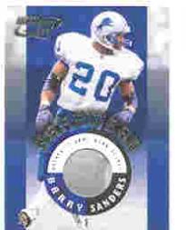 2000 Quantum Leaf Hardwear #HW3 Barry Sanders
