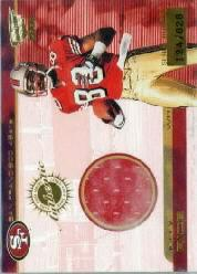 2000 Revolution Game Worn Jerseys #18 Jerry Rice/828*