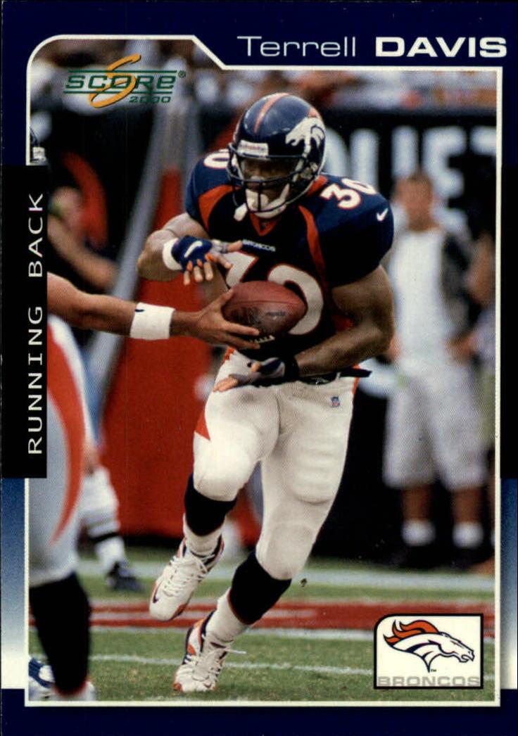 2000 Score #58 Terrell Davis