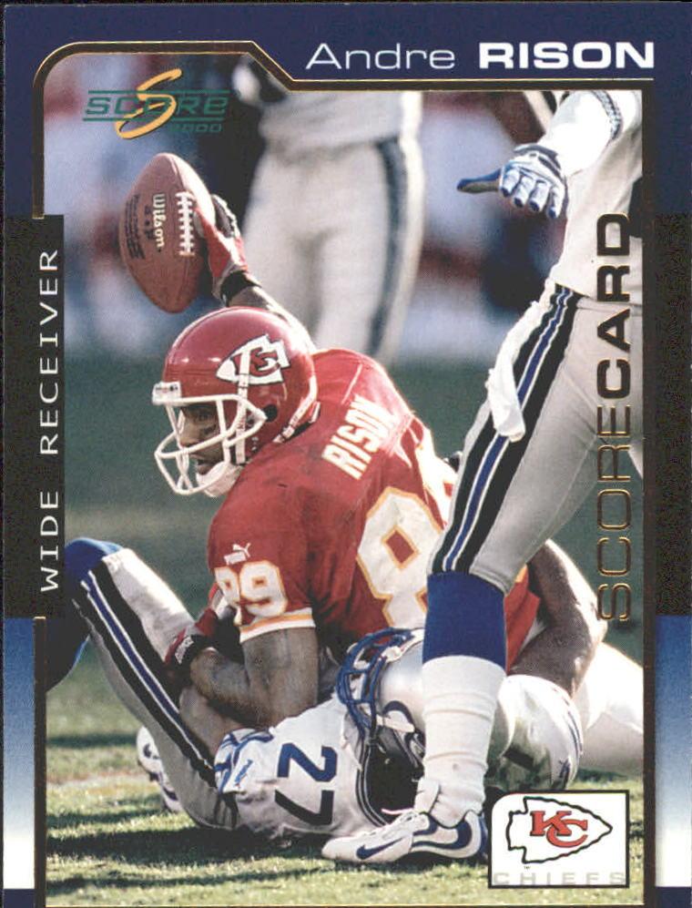 2000 Score Scorecard #95 Andre Rison