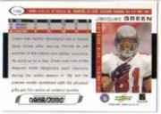 2000 Score Scorecard #198 Jacquez Green back image