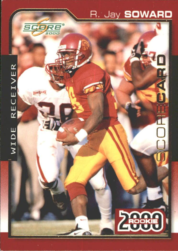 2000 Score Scorecard #294 R.Jay Soward
