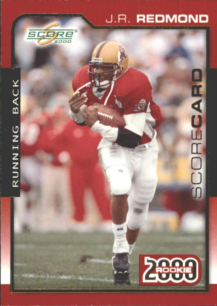 2000 Score Scorecard #308 J.R. Redmond