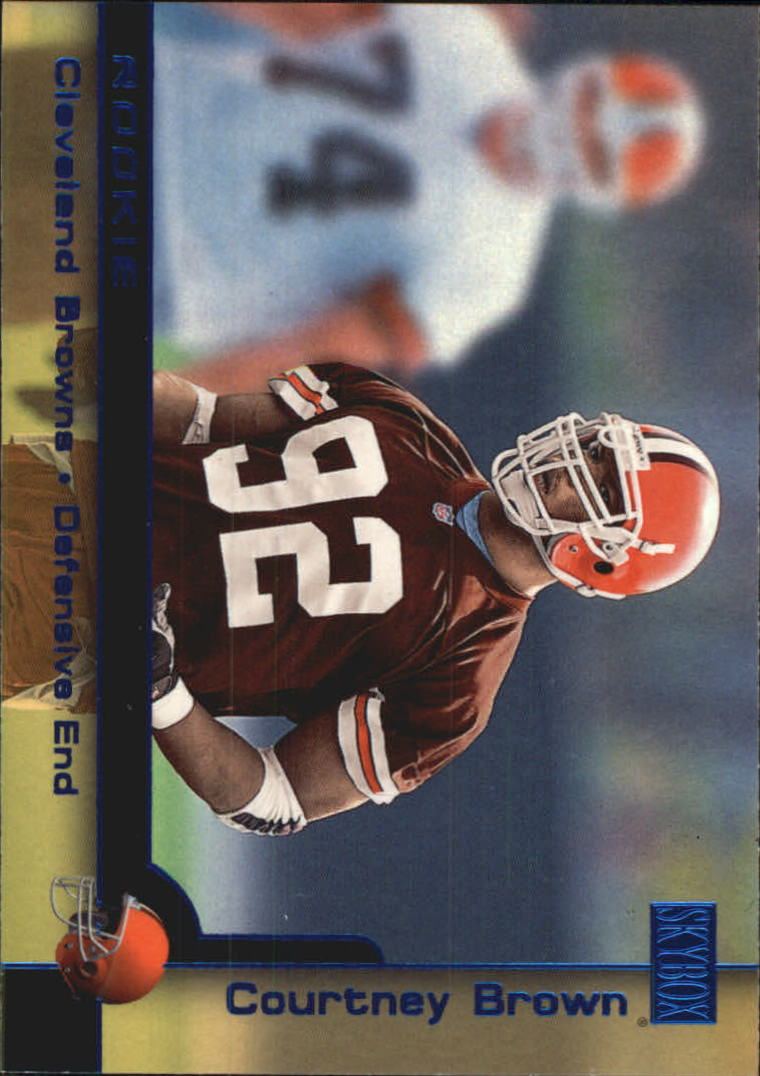2000 SkyBox #201H Courtney Brown SP
