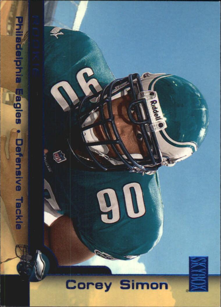 2000 SkyBox #217H Corey Simon SP