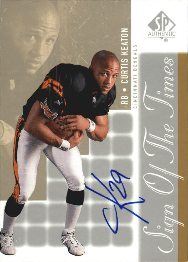 2000 SP Authentic Sign of the Times #CK Curtis Keaton