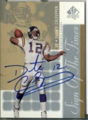 2000 SP Authentic Sign of the Times #DC Daunte Culpepper