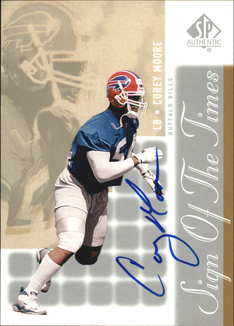 2000 SP Authentic Sign of the Times #MO Corey Moore