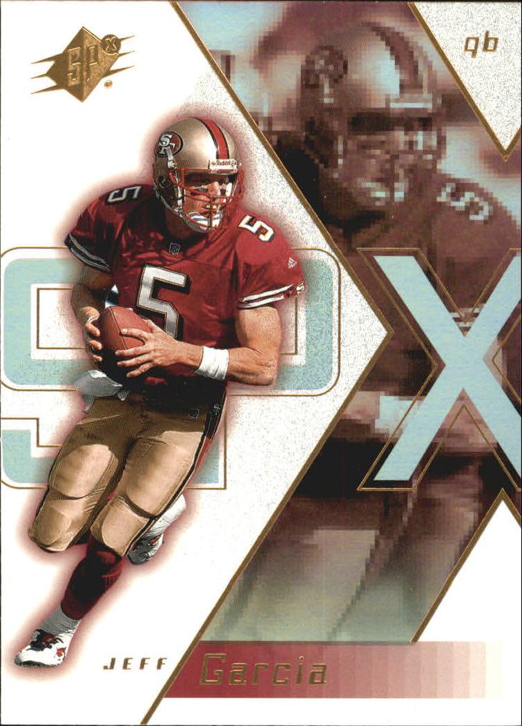 2000 SPx #78 Jeff Garcia