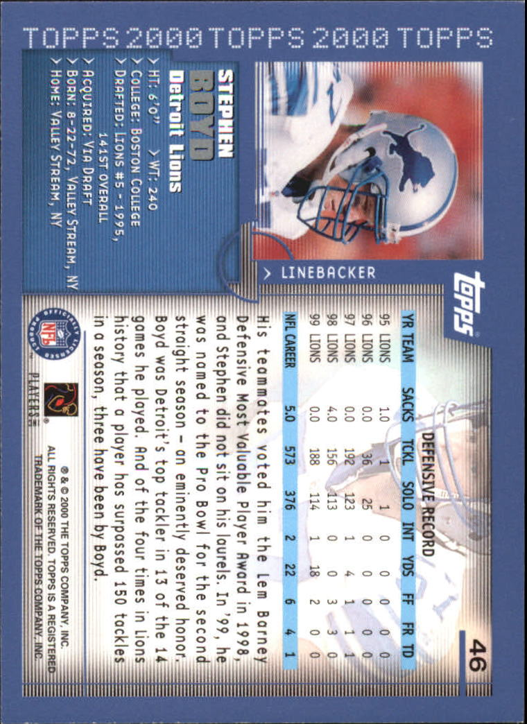 2000-Topps-Football-Base-Singles-3-299-Pick-Your-Cards