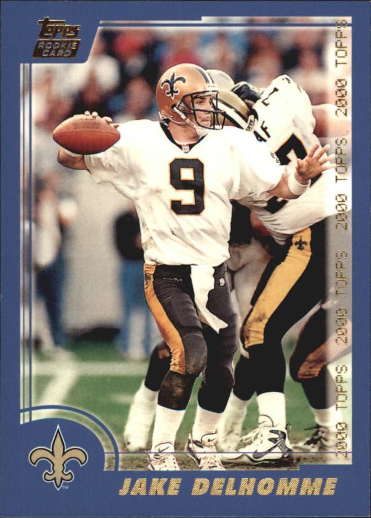 2000 Topps #286 Jake Delhomme RC