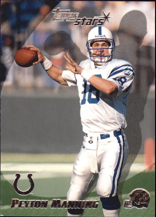 2000 Topps Stars #72 Peyton Manning