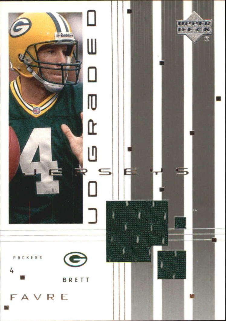 2000 UD Graded Jerseys Green Bay Packers Football Card #GBF Brett
