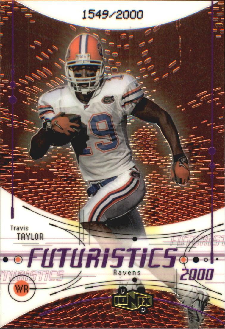 2000 UD Ionix #106 Travis Taylor RC