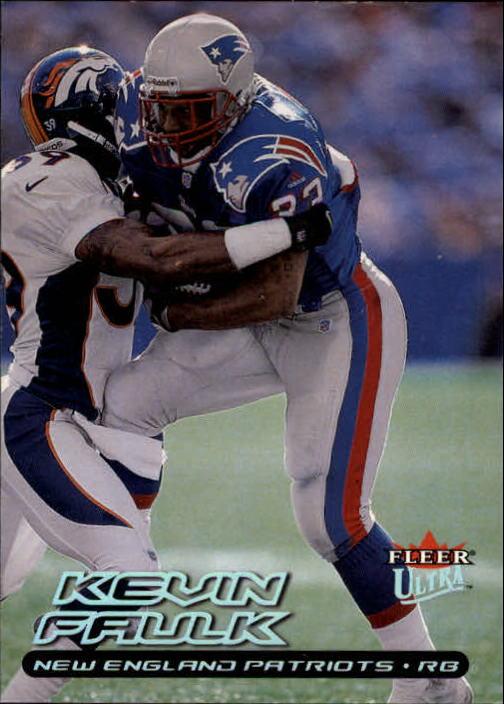 2000 Ultra #4 Kevin Faulk