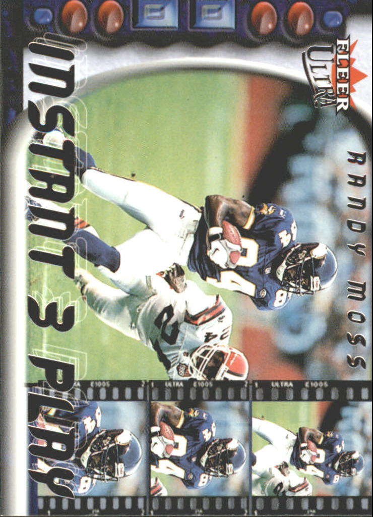 2000 Ultra Instant Three Play #6 Randy Moss