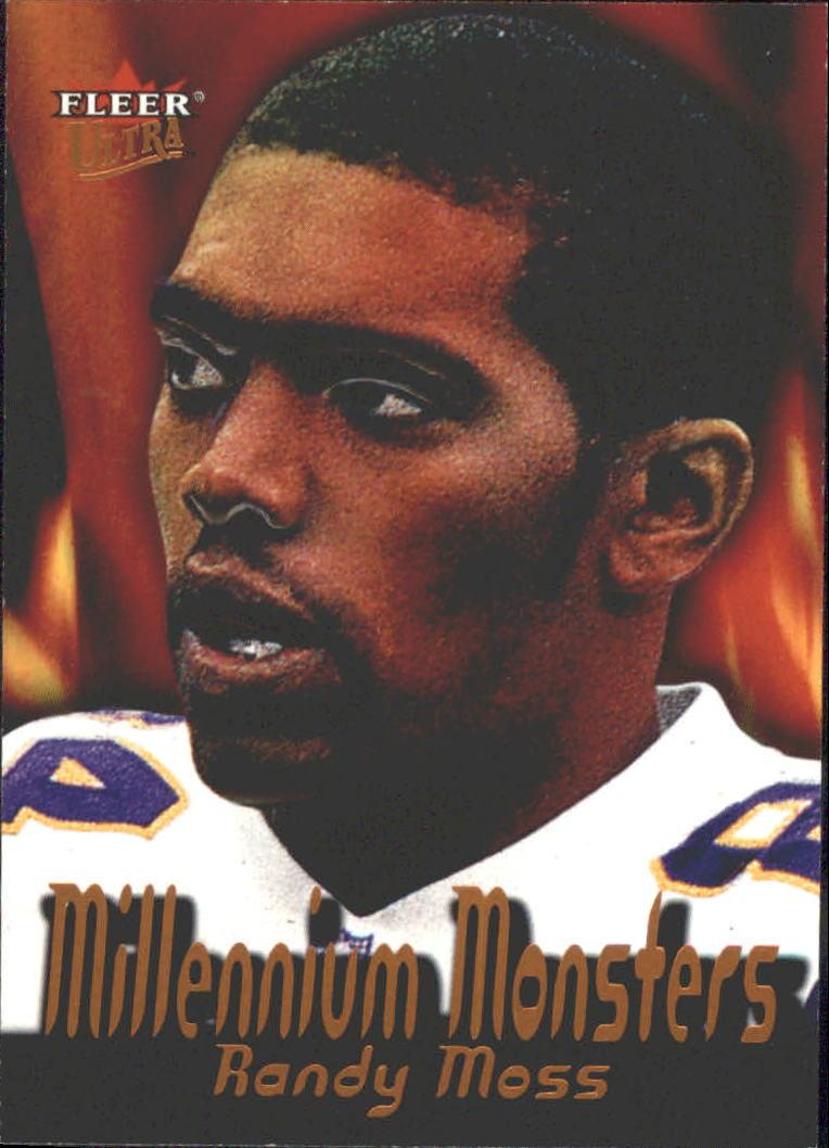 2000 Ultra Millennium Monsters #6 Randy Moss