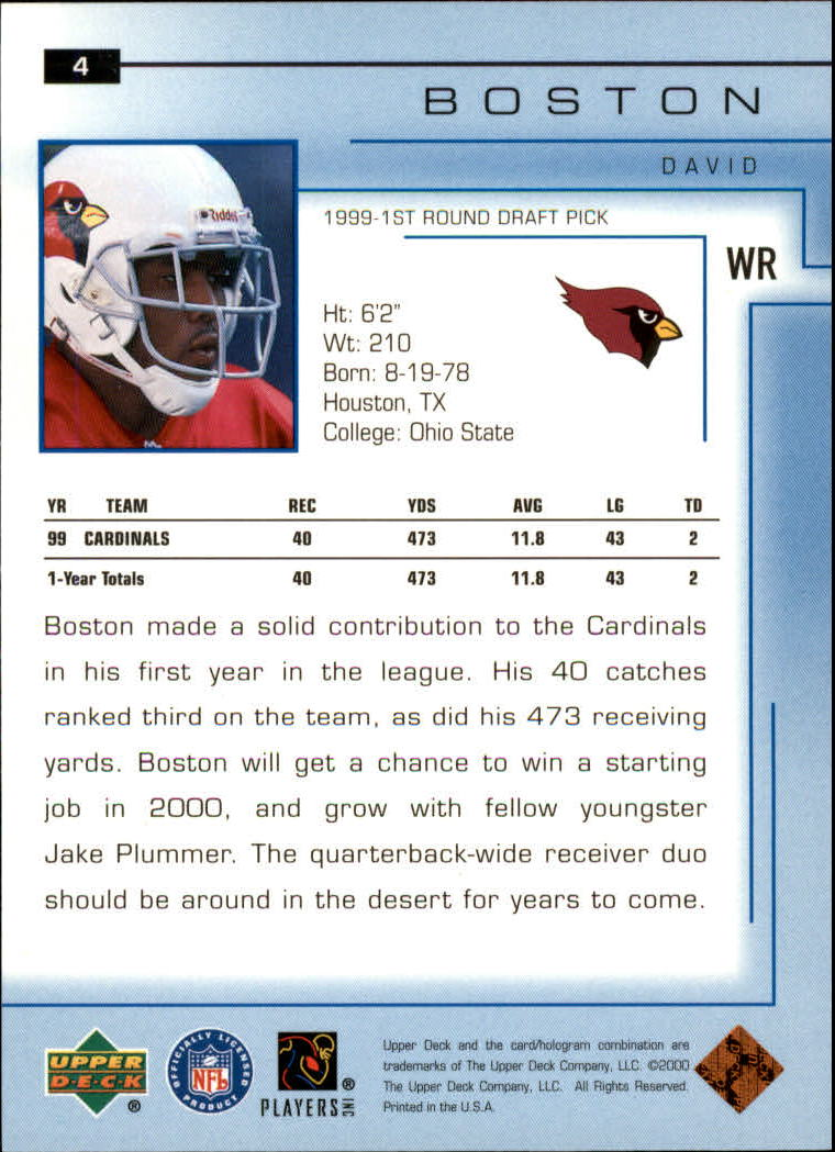 2000-Upper-Deck-Football-Card-039-s-1-200-You-Pick-Buy-10-cards-FREE-SHIP thumbnail 5