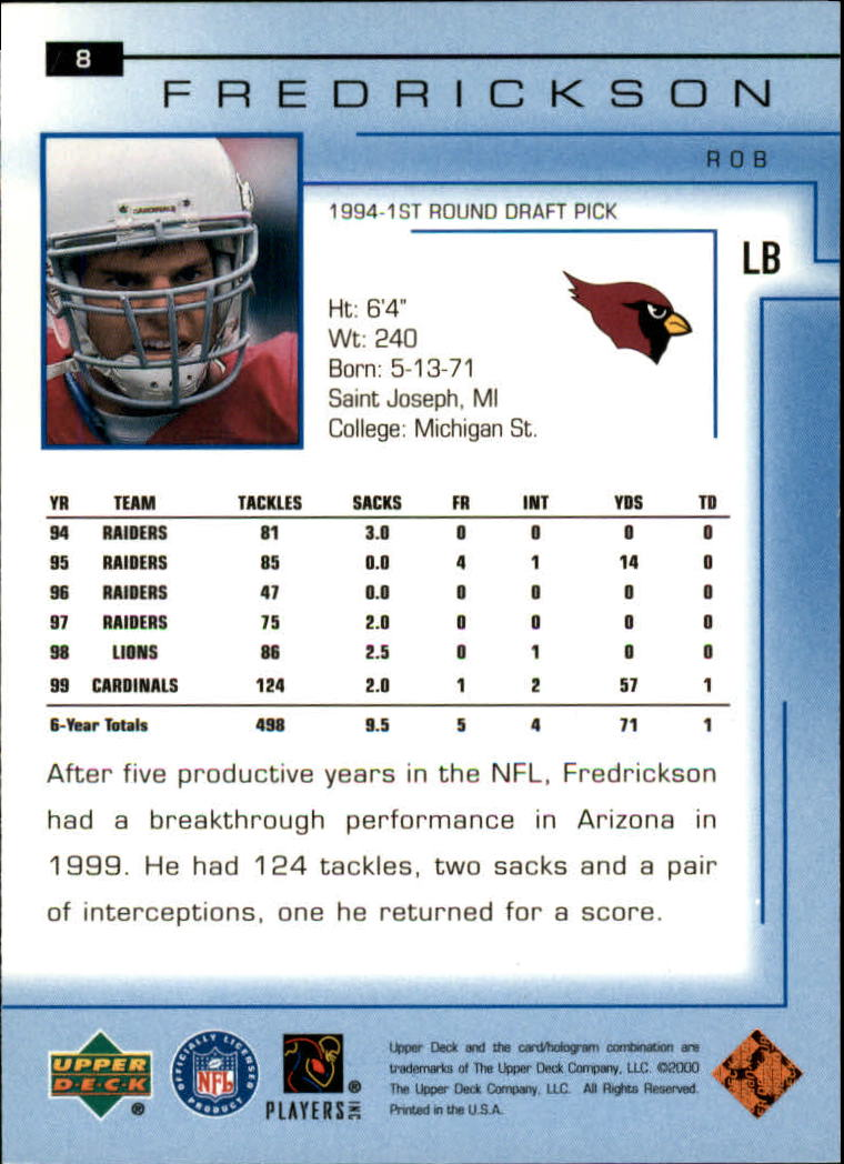 2000-Upper-Deck-Football-Card-039-s-1-200-You-Pick-Buy-10-cards-FREE-SHIP thumbnail 9