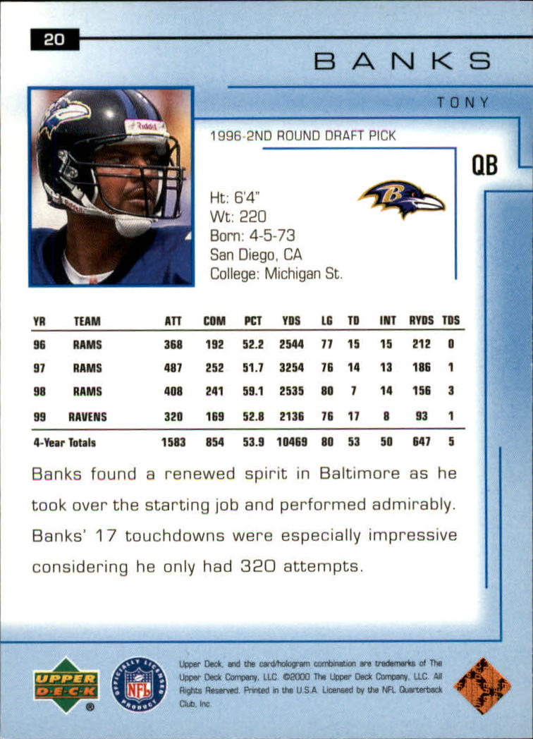 2000-Upper-Deck-Football-Card-039-s-1-200-You-Pick-Buy-10-cards-FREE-SHIP thumbnail 27