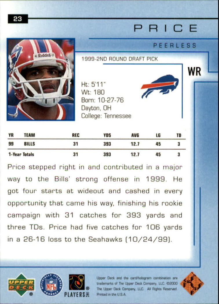 2000-Upper-Deck-Football-Card-039-s-1-200-You-Pick-Buy-10-cards-FREE-SHIP thumbnail 31