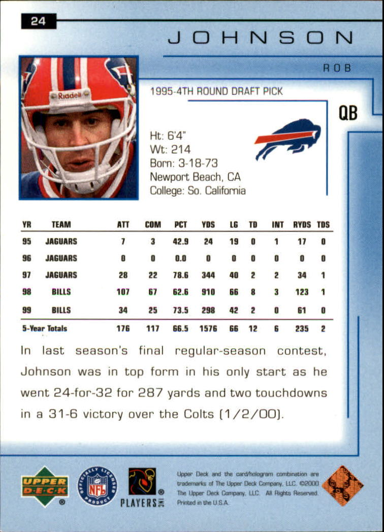 2000-Upper-Deck-Football-Card-039-s-1-200-You-Pick-Buy-10-cards-FREE-SHIP thumbnail 33
