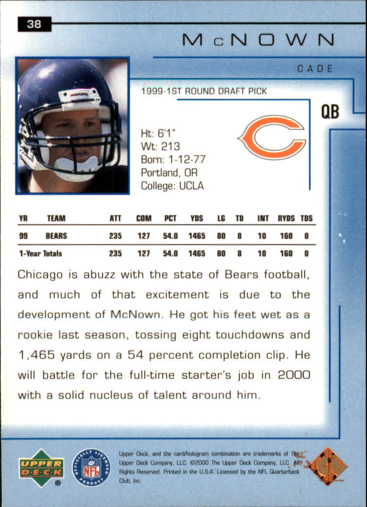 2000-Upper-Deck-Football-Card-039-s-1-200-You-Pick-Buy-10-cards-FREE-SHIP thumbnail 55