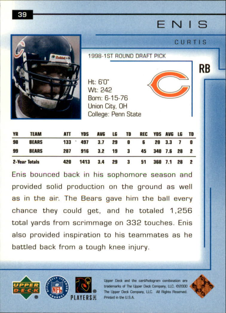 2000-Upper-Deck-Football-Card-039-s-1-200-You-Pick-Buy-10-cards-FREE-SHIP thumbnail 57