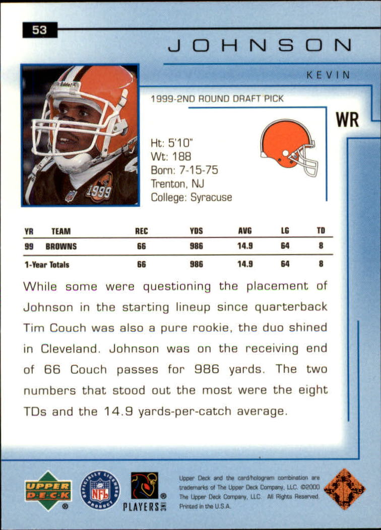 2000-Upper-Deck-Football-Card-039-s-1-200-You-Pick-Buy-10-cards-FREE-SHIP thumbnail 75