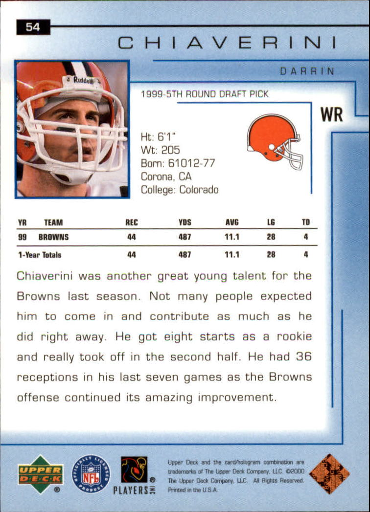 2000-Upper-Deck-Football-Card-039-s-1-200-You-Pick-Buy-10-cards-FREE-SHIP thumbnail 77