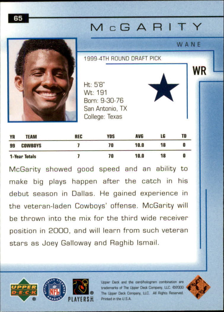 2000-Upper-Deck-Football-Card-039-s-1-200-You-Pick-Buy-10-cards-FREE-SHIP thumbnail 91