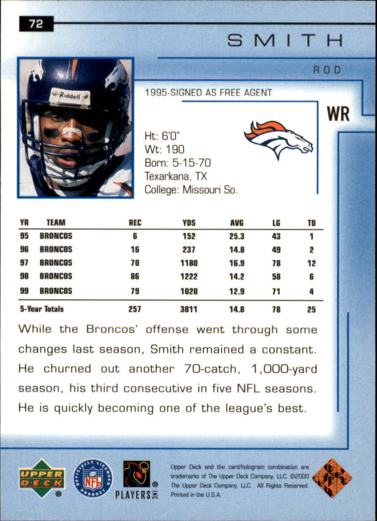 2000-Upper-Deck-Football-Card-039-s-1-200-You-Pick-Buy-10-cards-FREE-SHIP thumbnail 105