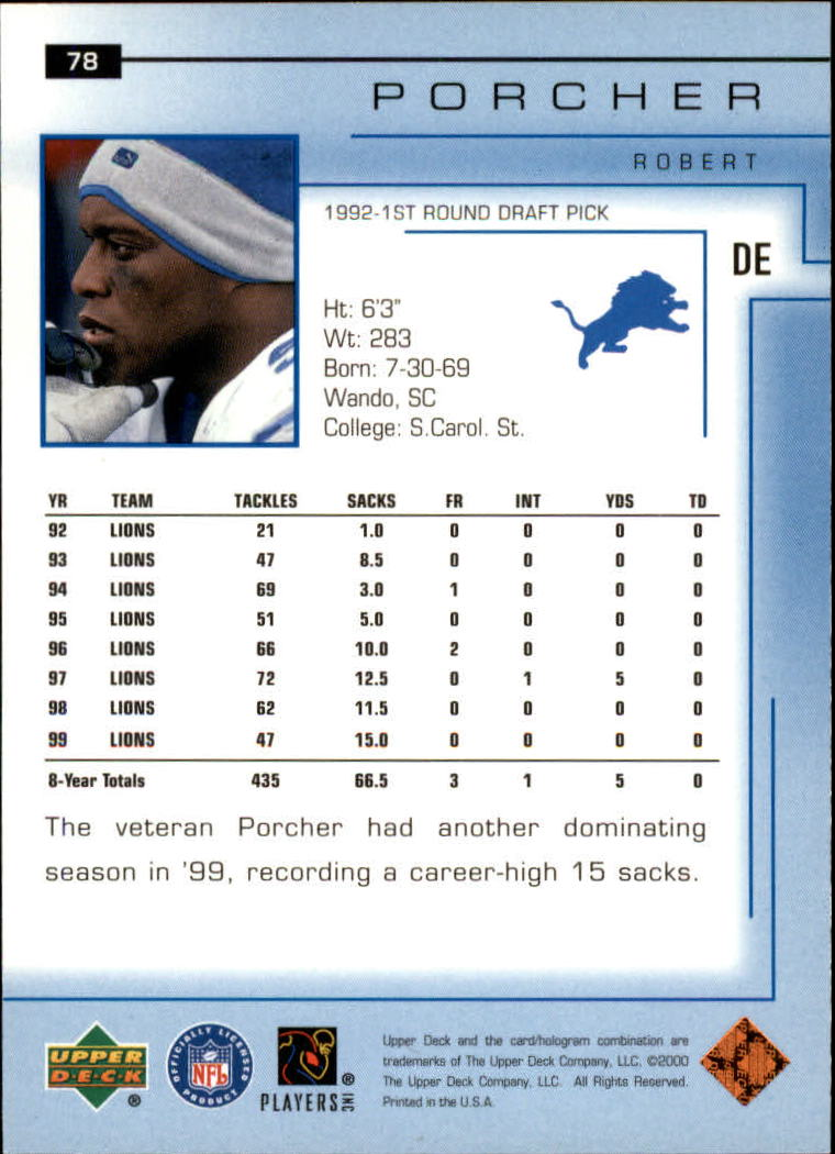 2000-Upper-Deck-Football-Card-039-s-1-200-You-Pick-Buy-10-cards-FREE-SHIP thumbnail 115