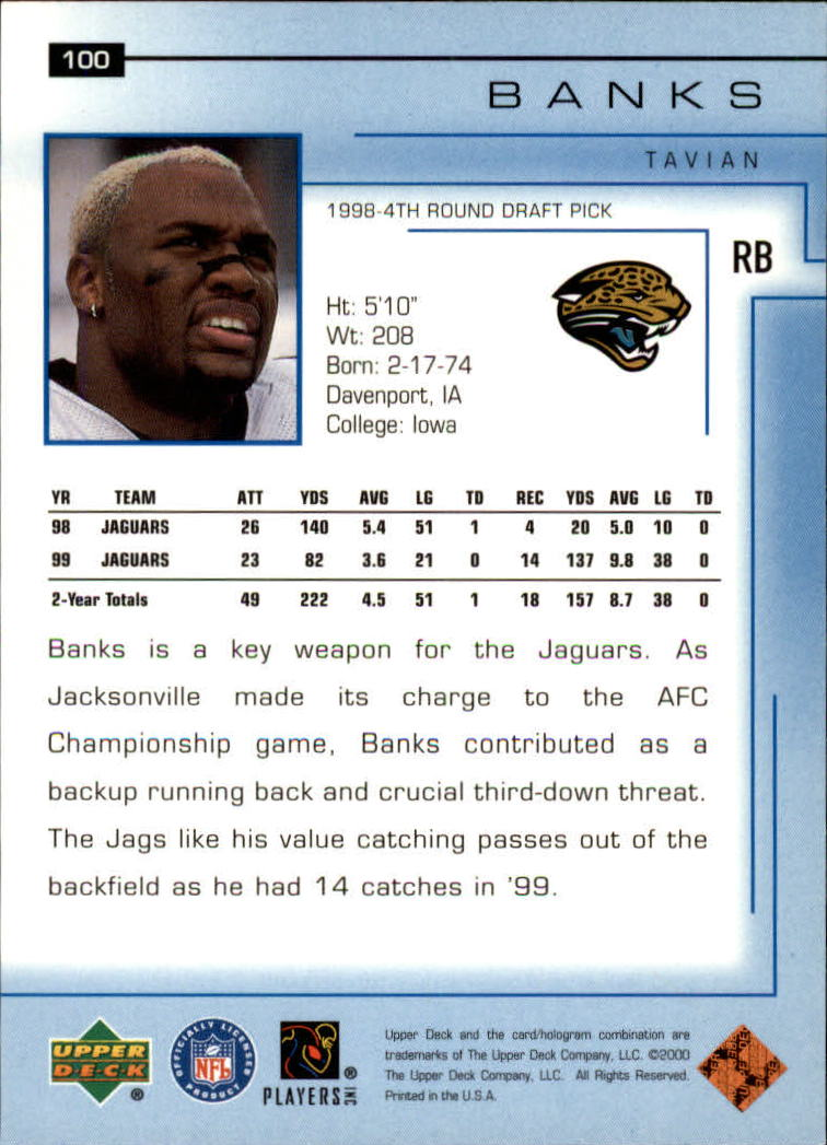 2000-Upper-Deck-Football-Card-039-s-1-200-You-Pick-Buy-10-cards-FREE-SHIP thumbnail 125