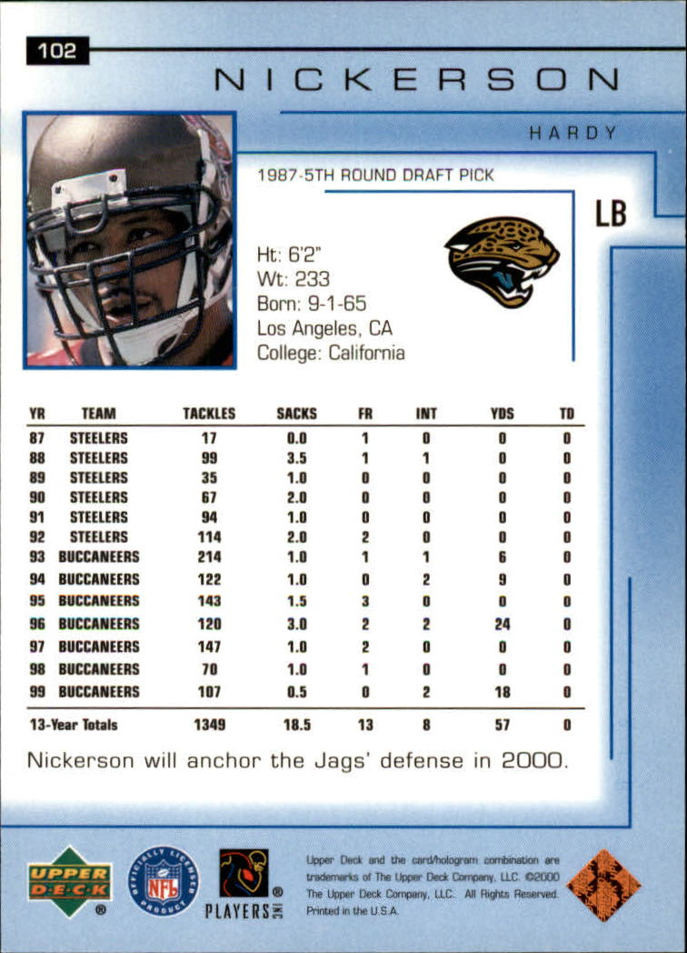2000-Upper-Deck-Football-Card-039-s-1-200-You-Pick-Buy-10-cards-FREE-SHIP thumbnail 129