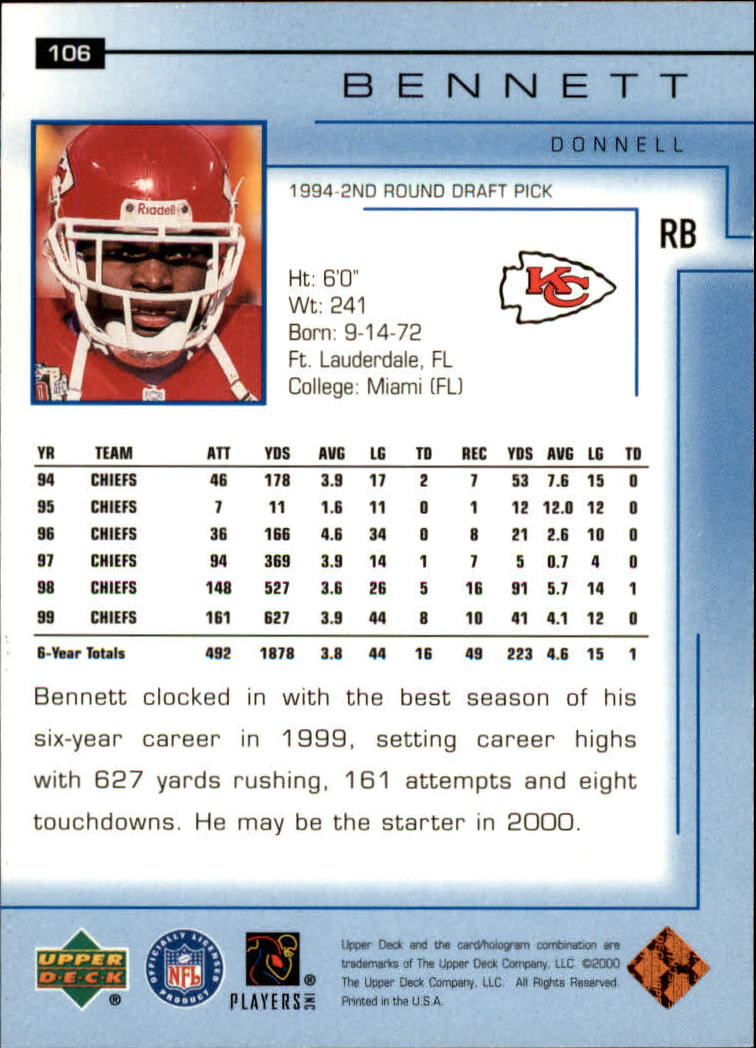 2000-Upper-Deck-Football-Card-039-s-1-200-You-Pick-Buy-10-cards-FREE-SHIP thumbnail 137