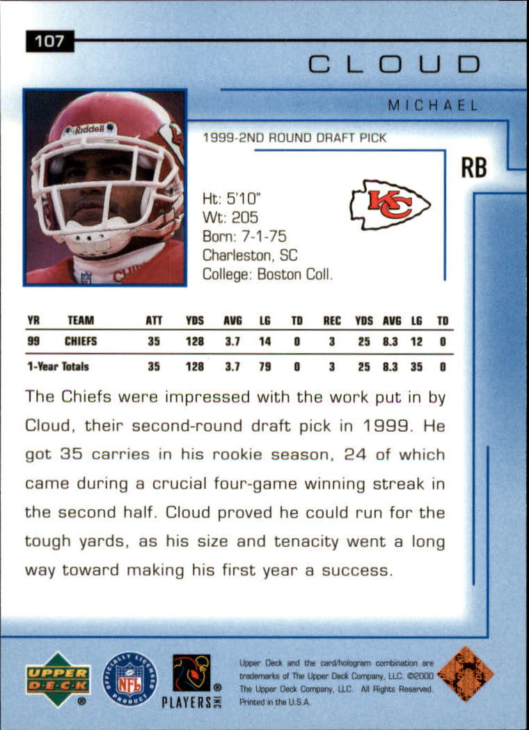 2000-Upper-Deck-Football-Card-039-s-1-200-You-Pick-Buy-10-cards-FREE-SHIP thumbnail 139