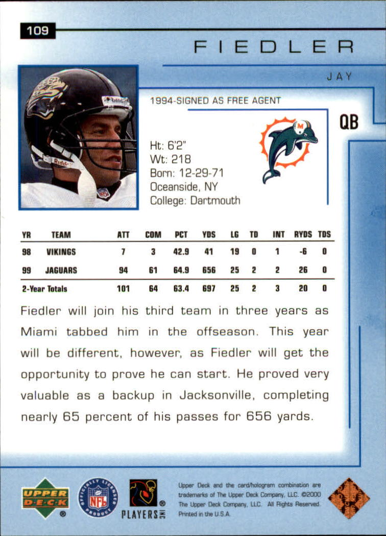 2000-Upper-Deck-Football-Card-039-s-1-200-You-Pick-Buy-10-cards-FREE-SHIP thumbnail 141