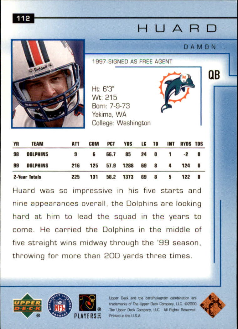 2000-Upper-Deck-Football-Card-039-s-1-200-You-Pick-Buy-10-cards-FREE-SHIP thumbnail 147