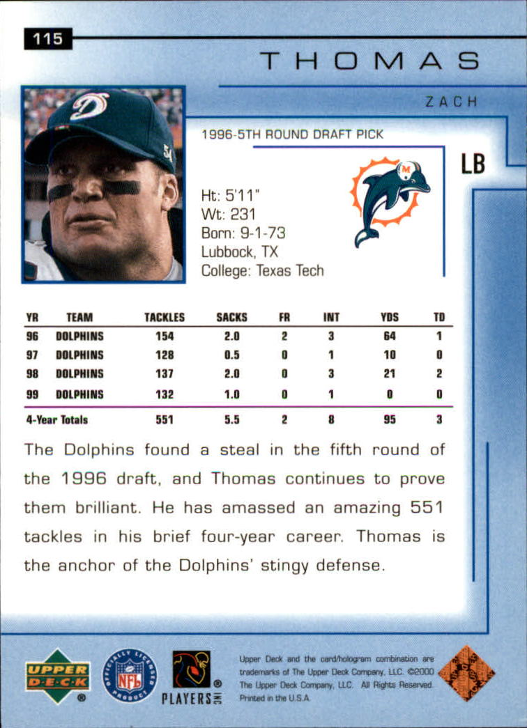 2000-Upper-Deck-Football-Card-039-s-1-200-You-Pick-Buy-10-cards-FREE-SHIP thumbnail 153