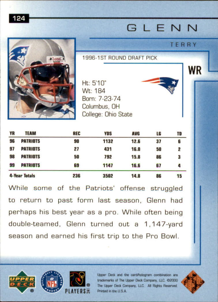 2000-Upper-Deck-Football-Card-039-s-1-200-You-Pick-Buy-10-cards-FREE-SHIP thumbnail 167