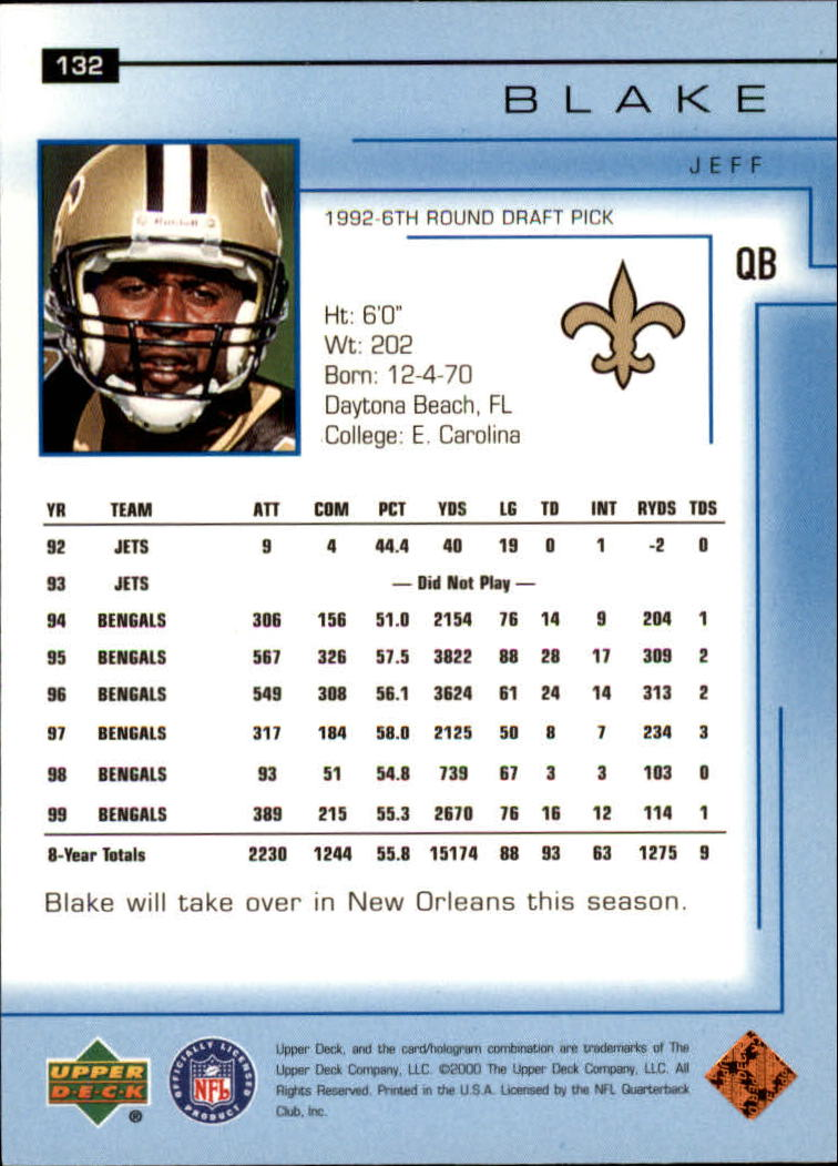 2000-Upper-Deck-Football-Card-039-s-1-200-You-Pick-Buy-10-cards-FREE-SHIP thumbnail 171