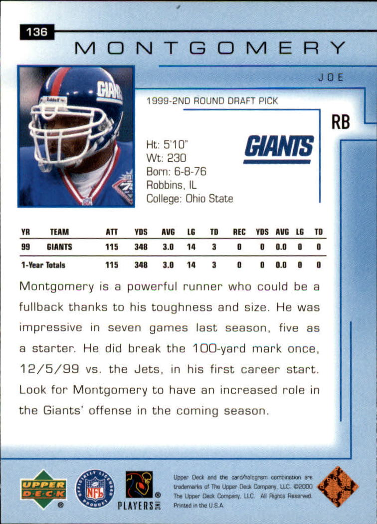 2000-Upper-Deck-Football-Card-039-s-1-200-You-Pick-Buy-10-cards-FREE-SHIP thumbnail 179