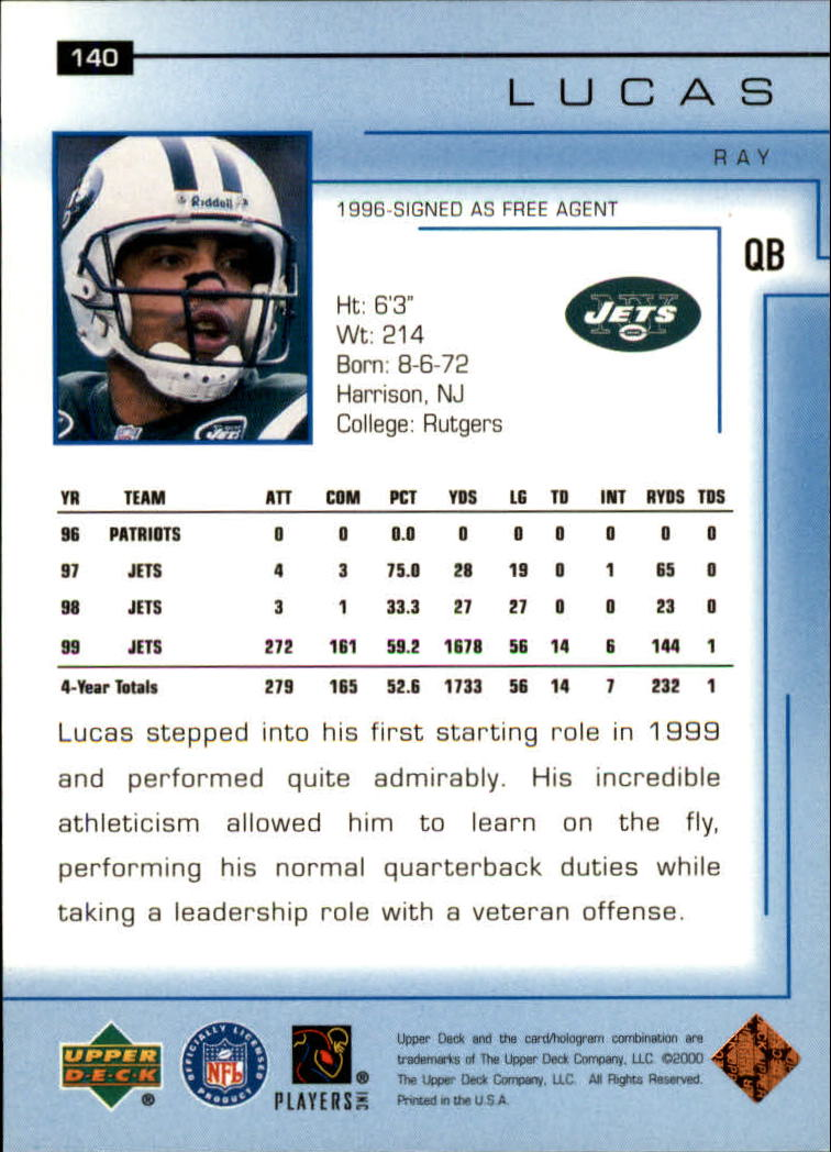 2000-Upper-Deck-Football-Card-039-s-1-200-You-Pick-Buy-10-cards-FREE-SHIP thumbnail 185