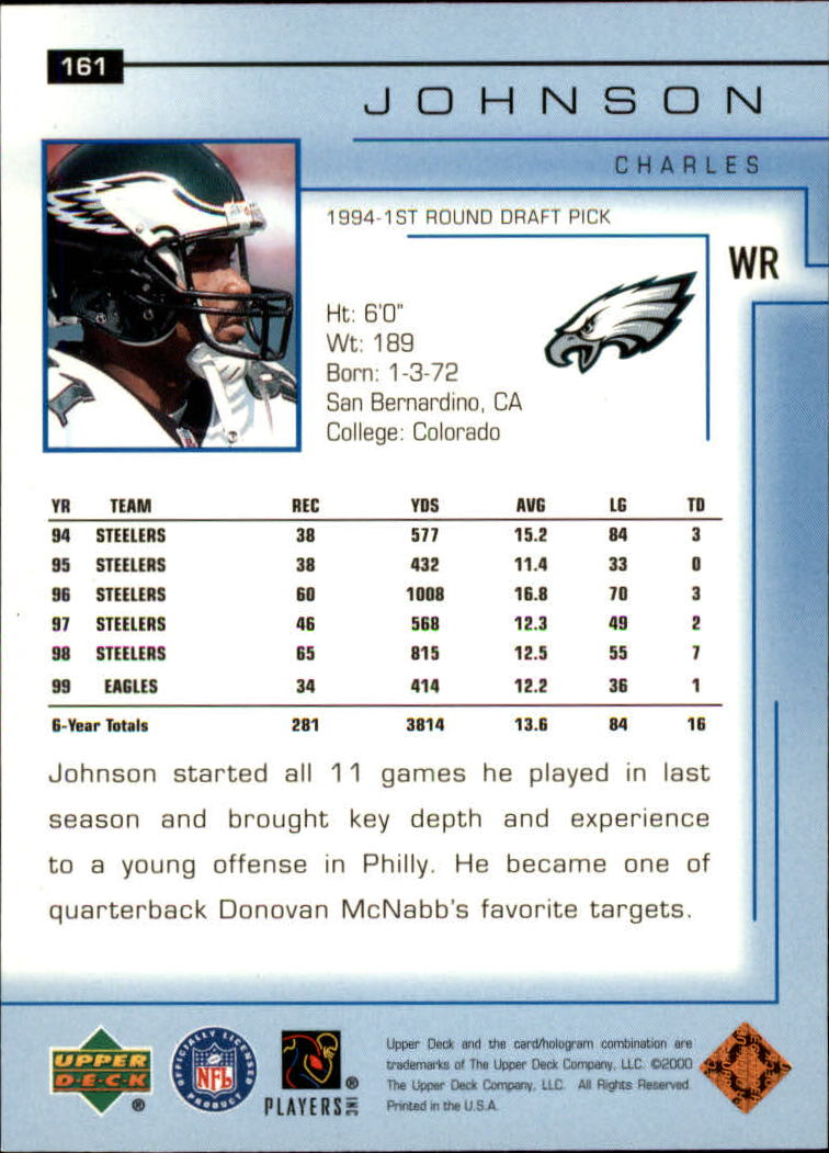 2000-Upper-Deck-Football-Card-039-s-1-200-You-Pick-Buy-10-cards-FREE-SHIP thumbnail 213