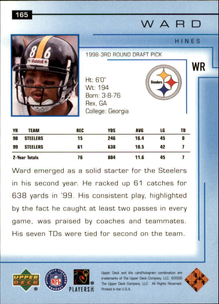2000-Upper-Deck-Football-Card-039-s-1-200-You-Pick-Buy-10-cards-FREE-SHIP thumbnail 219